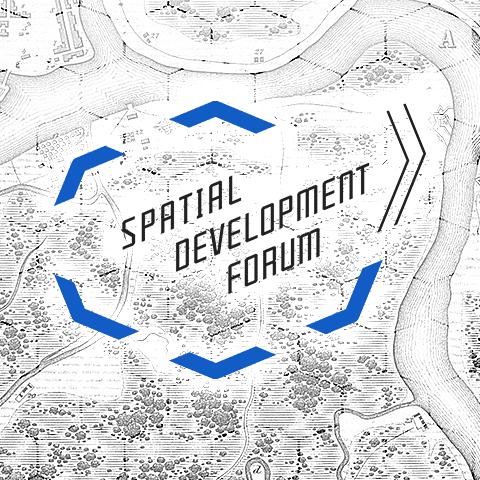 Фирменный стиль бейджей Spatial Development Forum